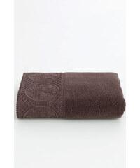 Soft Cotton Luxusní ručník ELIZA 50x100 cm Tmavě hnědá