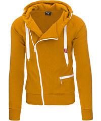 Coolbuddy Pánská mikina s kapucí karamelové barvy 8942 Velikost: M