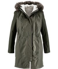 bpc bonprix collection Manteau 2 en 1 vert manches longues femme - bonprix
