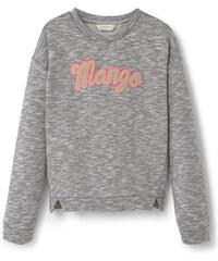 MANGO KIDS Baumwoll-Sweatshirt Mit Logo