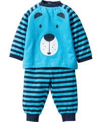 bpc bonprix collection Baby Sweatshirt + Sweathose (2-tlg. Set) Bio-Baumwolle in blau für Herren von bonprix
