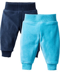 bpc bonprix collection Baby Fleecehose (2er-Pack) in blau für Herren von bonprix