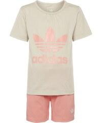 adidas Originals SET TShirt print clear brown/ray pink
