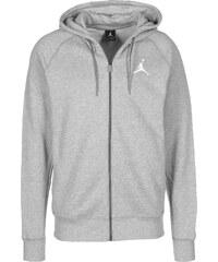 Jordan Flight sweat zippé à capuche dark grey heahter