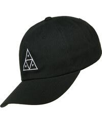 Huf Triple Triangle Curve Brim Cap black