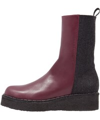 Hope SMITH Plateaustiefelette dark red