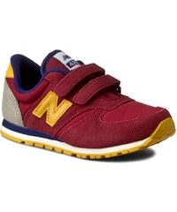 Sneakersy NEW BALANCE - KE420BYY Bordó