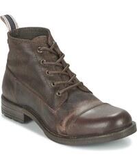 Jack Jones Kotníkové boty SIRCA LEATHER MID BOOT Jack Jones