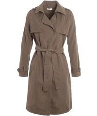 Trench-coat fluide effet peau Vert Polyamide - Femme Taille 1 - Cache Cache