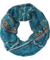 Cecil - Foulard de style ethnique - dusk bleu