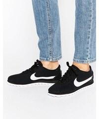 Nike - Cortez Ultra Moire - Baskets perforées - Noir et blanc - Noir