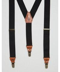 Fjallraven - Singi - Hosenträger mit Lederbesatz - Bronze