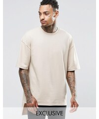 Underated - T-shirt en tissu épais - Taupe