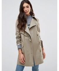 Cooper & Stollbrand - Trench-coat asymétrique - Taupe - Beige