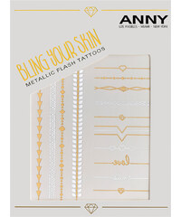 Anny Bling your Skin - Metallic Flash Tattoos Tattoo