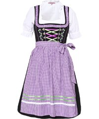 Anna Field SET Dirndl black/lilac