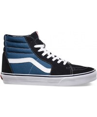 Vans SK8-Hi Reissue, Sneakers Hautes Mixte Adulte, Blanc Cassé (White/Stripes), 38.5 EU (5.5 UK)