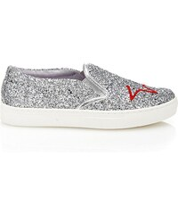 Guess Greta - Sneakers - argent