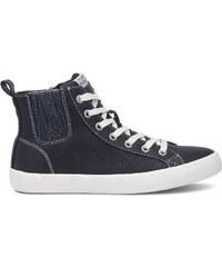 Pepe Jeans Footwear Clinton - Baskets montantes - bleu marine