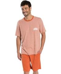 Athena West - Pyjama court - orange