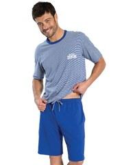 Athena West - Pyjama court - bleu