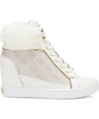 Guess Furr - Sneakers en cuir - blanc