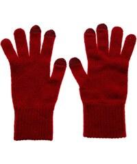 Barbour Dunbar - Gants en laine vierge - rouge