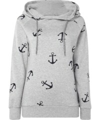 Only Hoodie mit Allover-Print