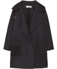 Mango GRETA Wollmantel / klassischer Mantel black