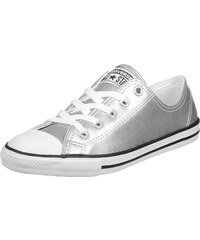 Converse All Star Dainity Leather Ox W chaussures silver