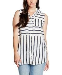 New Look Curves Damen Hemd Stripe Cutabout