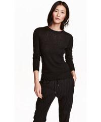 H&M Pletený svetr se vzorem
