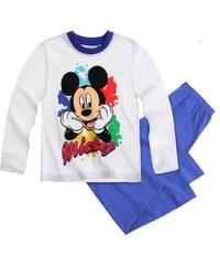 Disney Mickey Pyjama blau in Größe 98 für Mädchen aus 100% Baumwolle