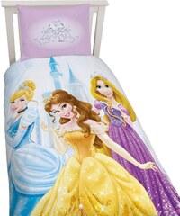Disney Princess Bettwäsche rosa in Größe UNI für Mädchen aus 100% Baumwolle