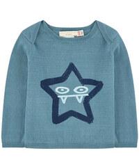 Stella McCartney Kids Kaschmir-Pullover aus Bio-Baumwolle mit Motiv