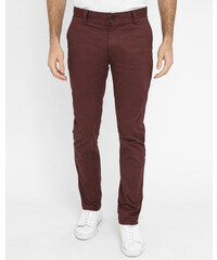 MINIMUM Bordeauxrote Chino-Hose Norden