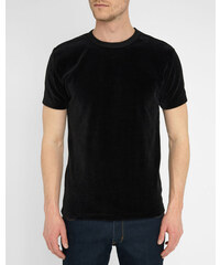 OUR LEGACY T-Shirt Perfect aus schwarzem Samt