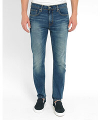 LEVI'S Skinny-Jeans 512 Tapered in Hellblau Stone Washed