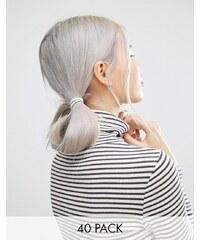 ASOS - Haarbänder im 40er-Set - Beige