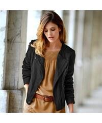 Blancheporte Semišová bunda černá 36