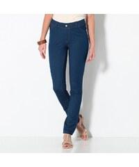Blancheporte Džínové ultrastrečové kalhoty modrá 36