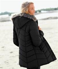 Blancheporte Prošívaná bunda s kapucí černá 38