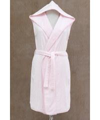 Soft Cotton Dámský luxusní župan DURU s kapucí S Růžová