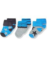 Sterntaler Baby-Jungen Socken Erstlingssöck.Sterne, 3er-Pack