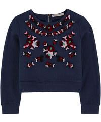 Ermanno Scervino Junior Sweatshirt aus Milano-Jersey