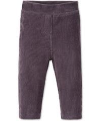 C&A Baby-Leggings in Velours-Qualität in Grau