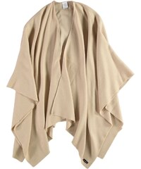 FRAAS Ruana mit puristischem Design in beige