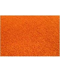 Kusový oranžový koberec Eton, Rozměry 57x120 Vopi