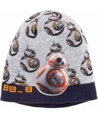 Star Wars-The Clone Wars Mütze grau in Größe 52 für Jungen aus 100% Polyacryl