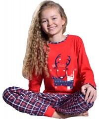 Taro Dětské pyžamo Kaja červené